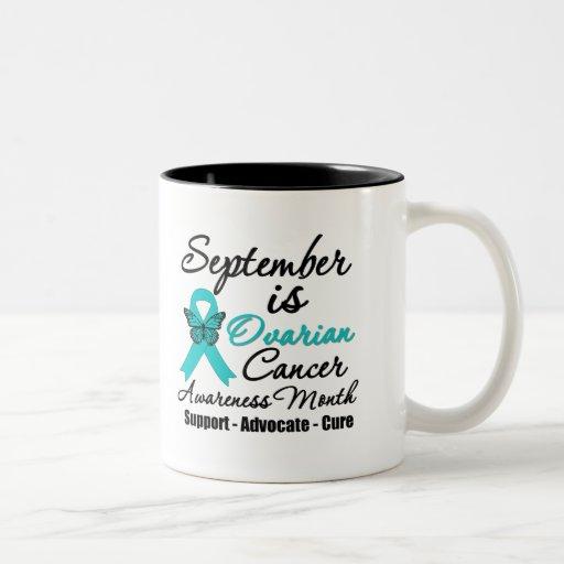 September is Ovarian Cancer Awareness Month Coffee Mug