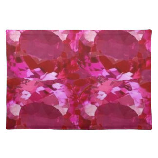 September Pink sapphire Birthstone by Sharles Placemats