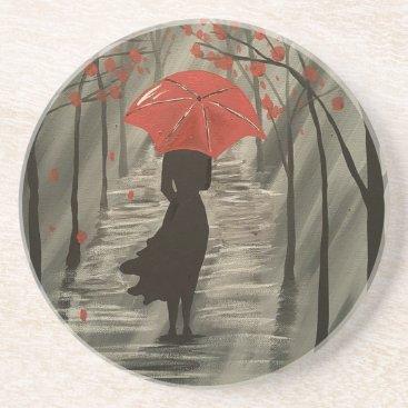 paintingbuzz September Rain Drink Coaster