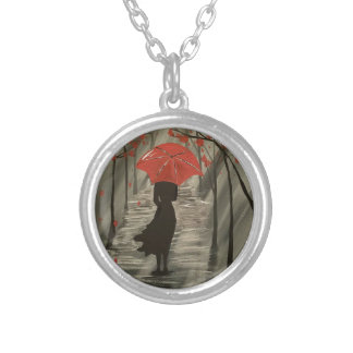 September Rain Silver Plated Necklace
