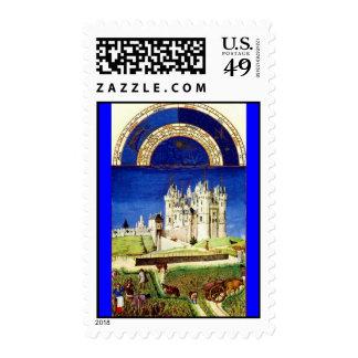 September - Tres Riche Heures du Duc de Berry Postage