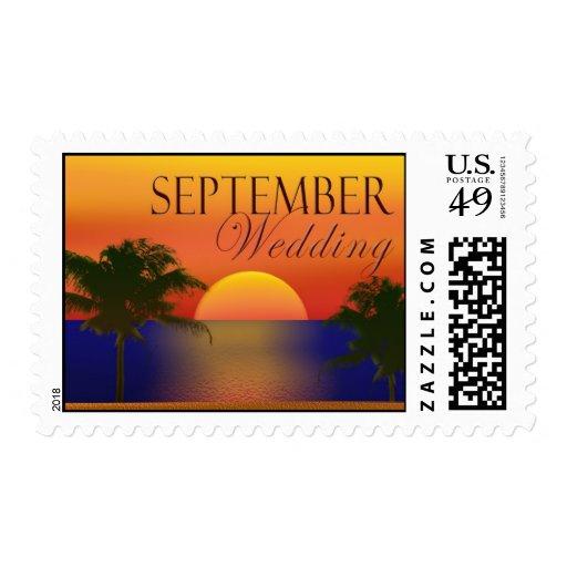 September tropical postage