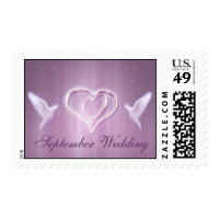september_wedding postage