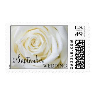 September Wedding Postage