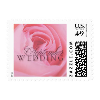 September Wedding Small Postage