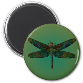 September Wing Dusk Flee Magnet