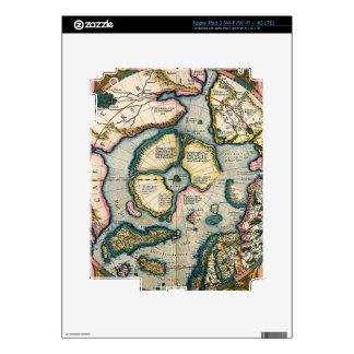 Septentrionalium terrarum descriptio, map of the A Decals For iPad 3