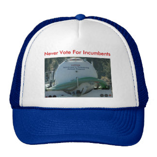 septic tank, Never Vote For Incumbents Trucker Hat