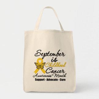 Septiembre es el mes v2 de la conciencia del cánce bolsas