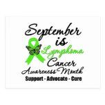 Septiembre es mes de la conciencia del linfoma postal