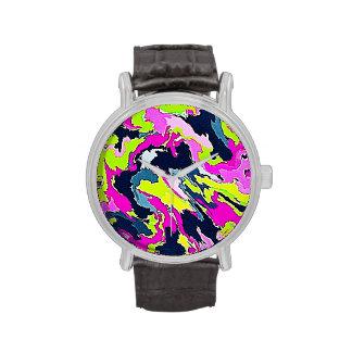 Septiembre llamativo c reloj de mano