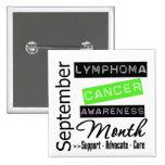 Septiembre - mes de la conciencia del linfoma pins