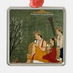 Séptima encarnación de Vishnu como Rama-Chandra Ornatos