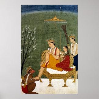 Séptima encarnación de Vishnu como Rama-Chandra Poster
