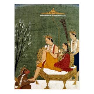 Séptima encarnación de Vishnu como Rama-Chandra Tarjetas Postales