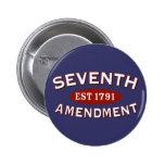 Séptima enmienda Est 1791 Pins