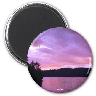 Séptima puesta del sol II del lago Imán Redondo 5 Cm