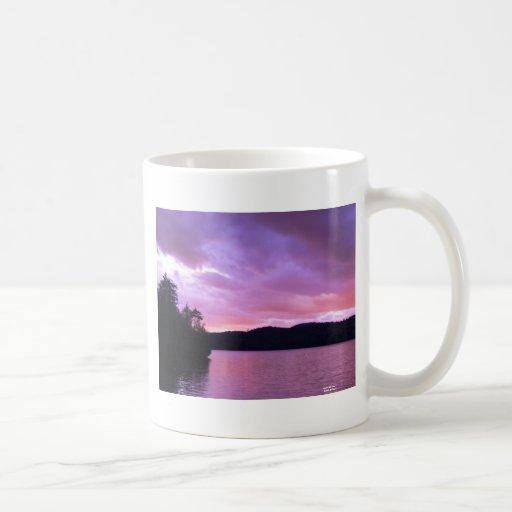 Séptima puesta del sol II del lago Taza