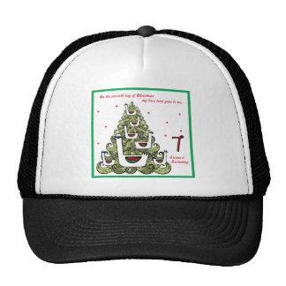 Séptimo día de navidad gorras de camionero