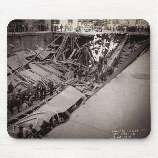 Séptimo hundimiento New York City 1915 de la calle Tapete De Ratón