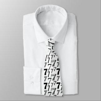 Septuagésima corbata del aniversario del