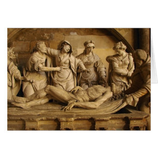 Sepulchre 16th Century Entombment of Christ Card