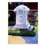 Sepulcro de Baltimore Maryland de Edgar Allan Poe Felicitación