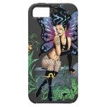 Sepulcro de hadas gótico que se sienta con los iPhone 5 funda