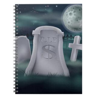 sepulcro del dólar A6 jpg 2012 Cuaderno