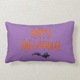 Sepulcro del feliz Halloween Cojin