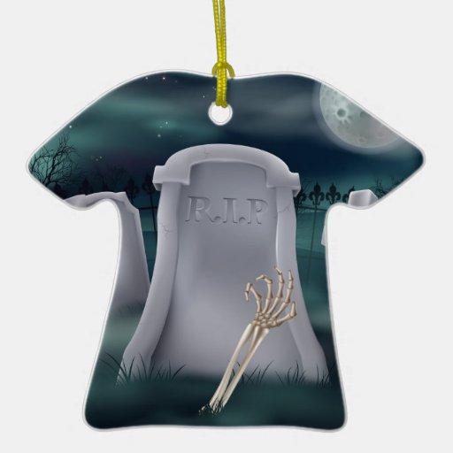 Sepulcro esquelético de la mano de los Undead Adorno Para Reyes