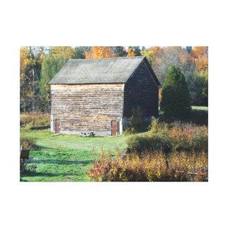 Sepulcro histórico del otoño de Adirondack de la g Lienzo Envuelto Para Galerías