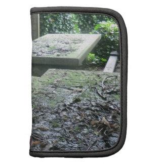 Sepulcros en el cementerio de Haworth en Yorkshire Planificadores