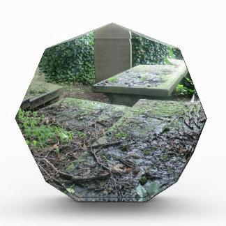 Sepulcros en el cementerio de Haworth en Yorkshire