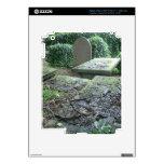 Sepulcros en el cementerio de Haworth en Yorkshire iPad 3 Pegatinas Skins