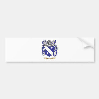 Sepulveda Coat of Arms (Family Crest) Bumper Stickers