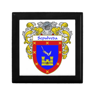 Sepulveda Coat of Arms/Family Crest Gift Box