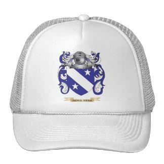 Sepulveda Coat of Arms (Family Crest) Trucker Hats