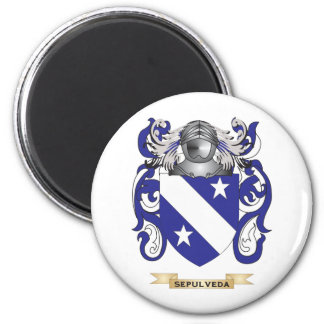 Sepulveda Coat of Arms (Family Crest) Magnets