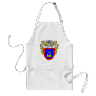 Sepulveda Coat of Arms (Mantled) Adult Apron