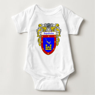 Sepulveda Coat of Arms (Mantled) Baby Bodysuit