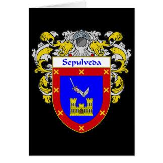 Sepulveda Coat of Arms (Mantled) Card
