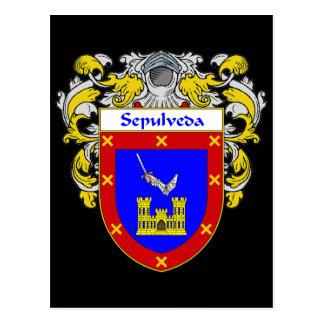 Sepulveda Coat of Arms (Mantled) Postcard