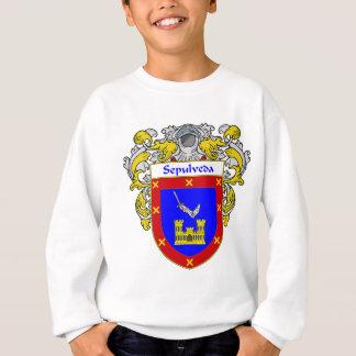 Sepulveda Coat of Arms (Mantled) Sweatshirt