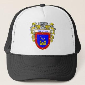 Sepulveda Coat of Arms (Mantled) Trucker Hat