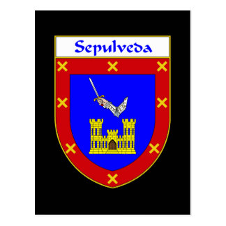 Sepulveda Coat of Arms Postcard