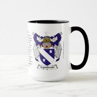 Sepulveda Family Coat of Arms Mug