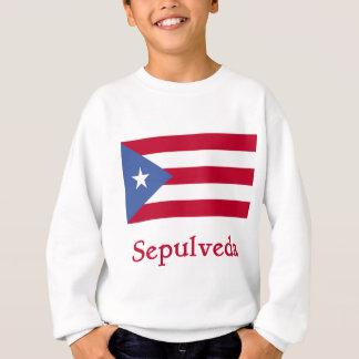 Sepulveda Puerto Rican Flag Sweatshirt