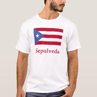 Sepulveda Puerto Rican Flag T-Shirt