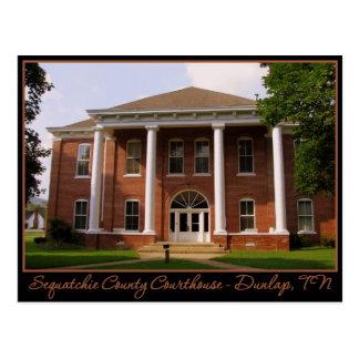Sequatchie County Courthouse - Dunlap, TN Postcard
